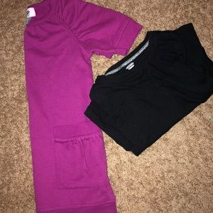 Old navy dress and long sleeve shirt